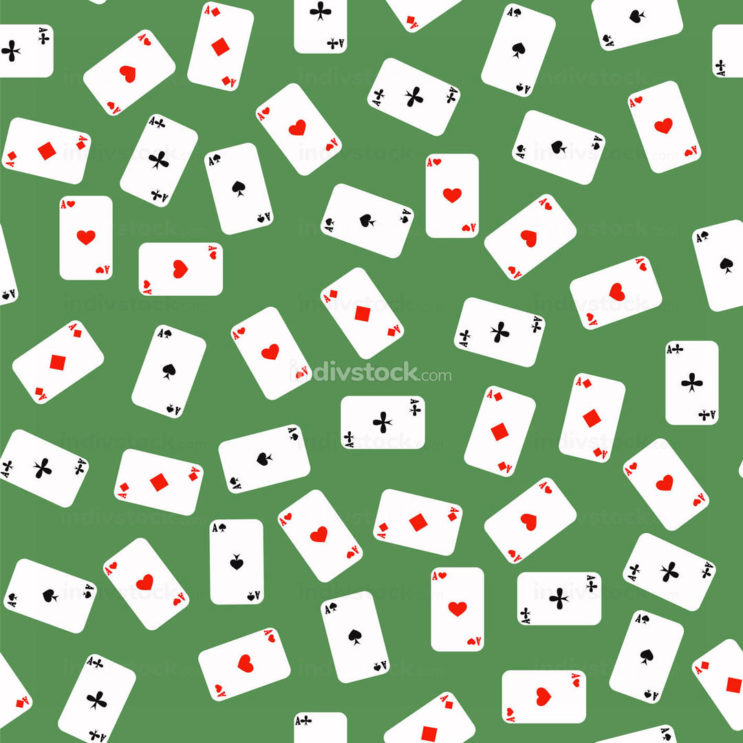 Different Playing Cards Pattern