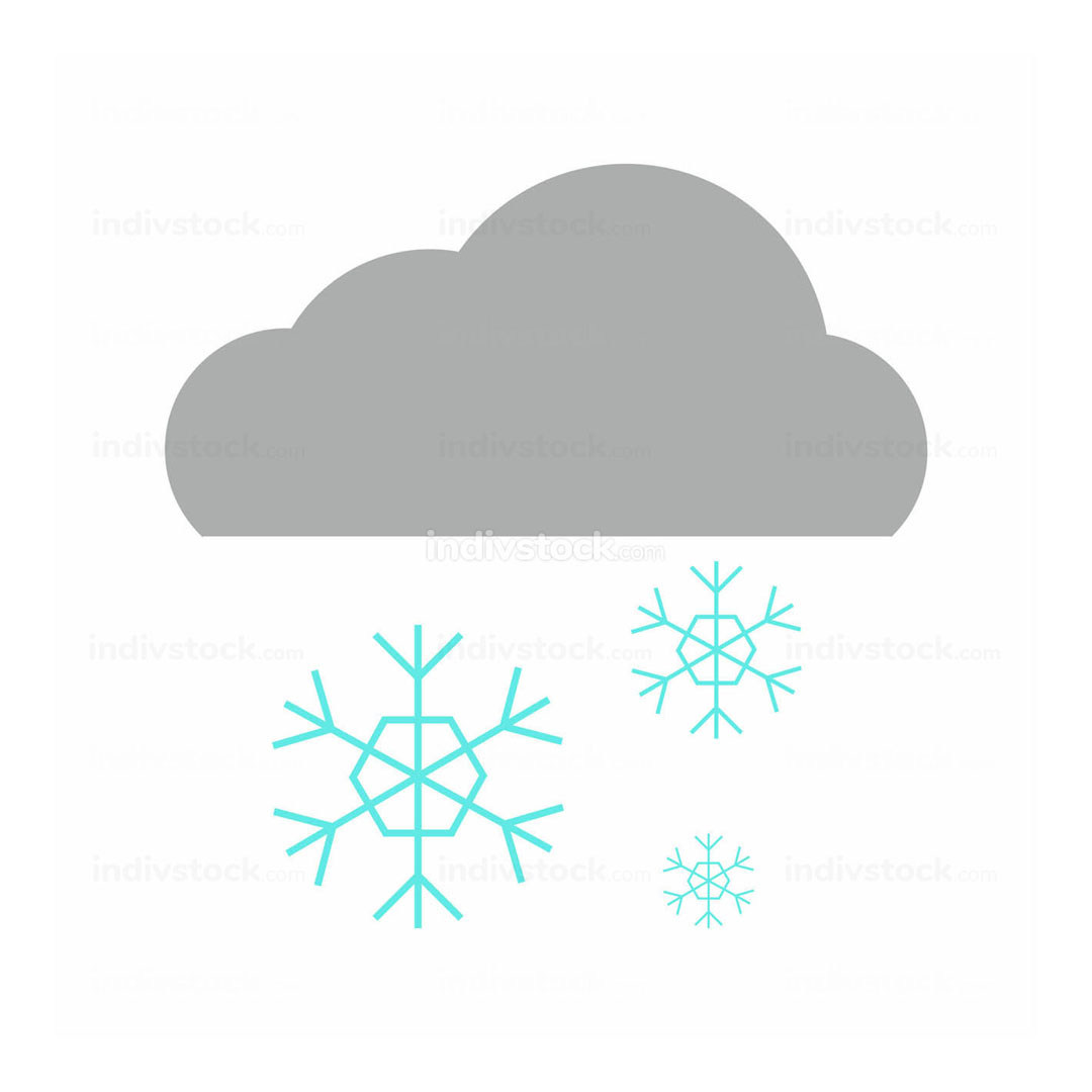 free download: Simple Snowflake Rain