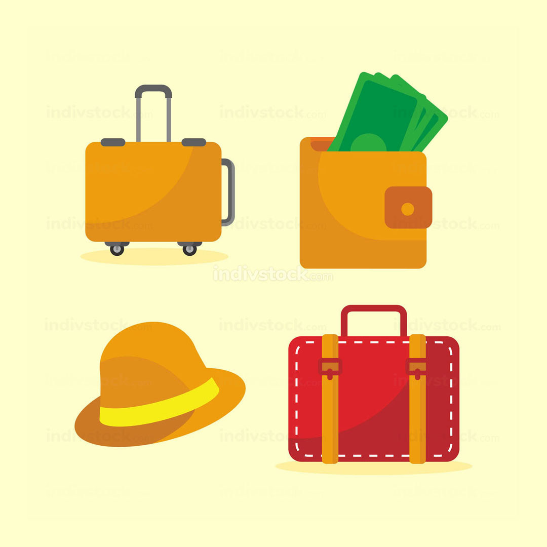Going Travel Icon Set