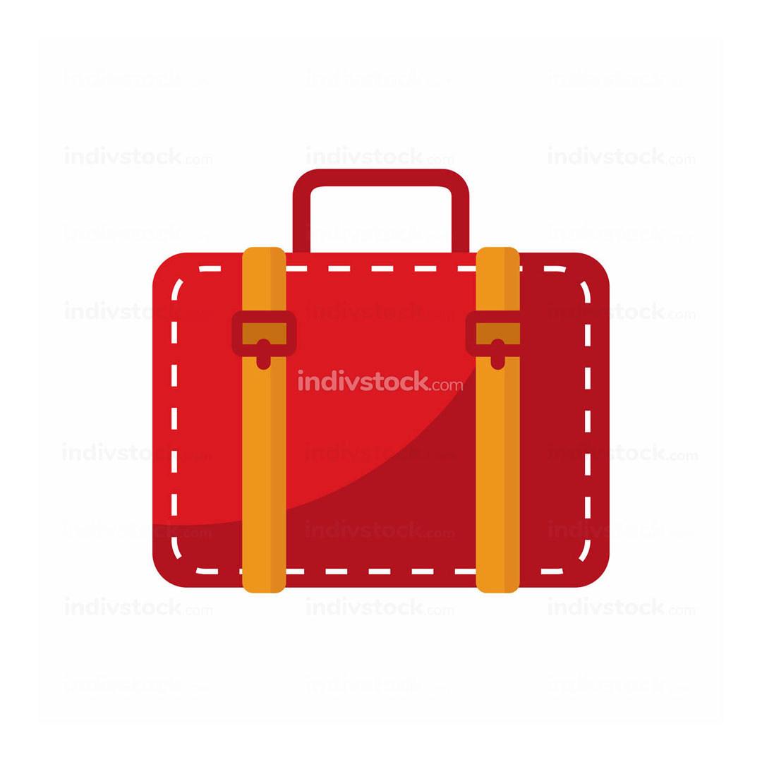 Simple Red Baggage