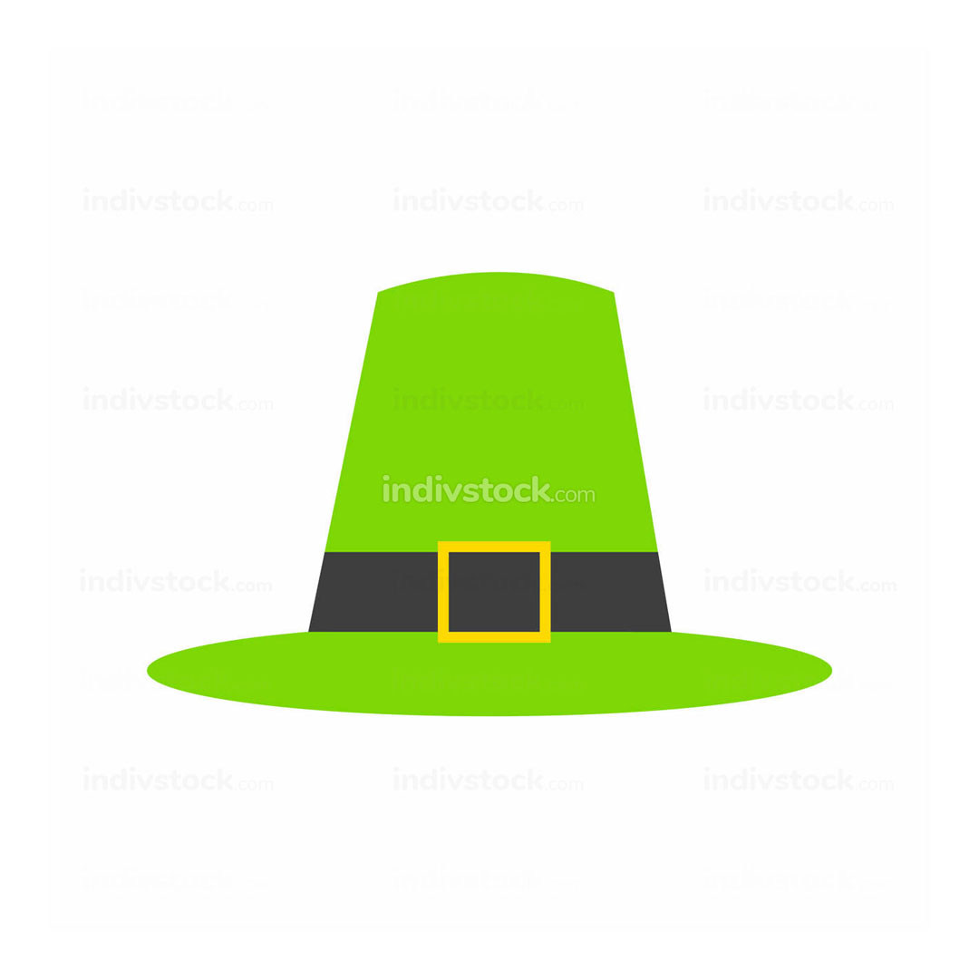 Thanksgiving Pilgrim Green Hat