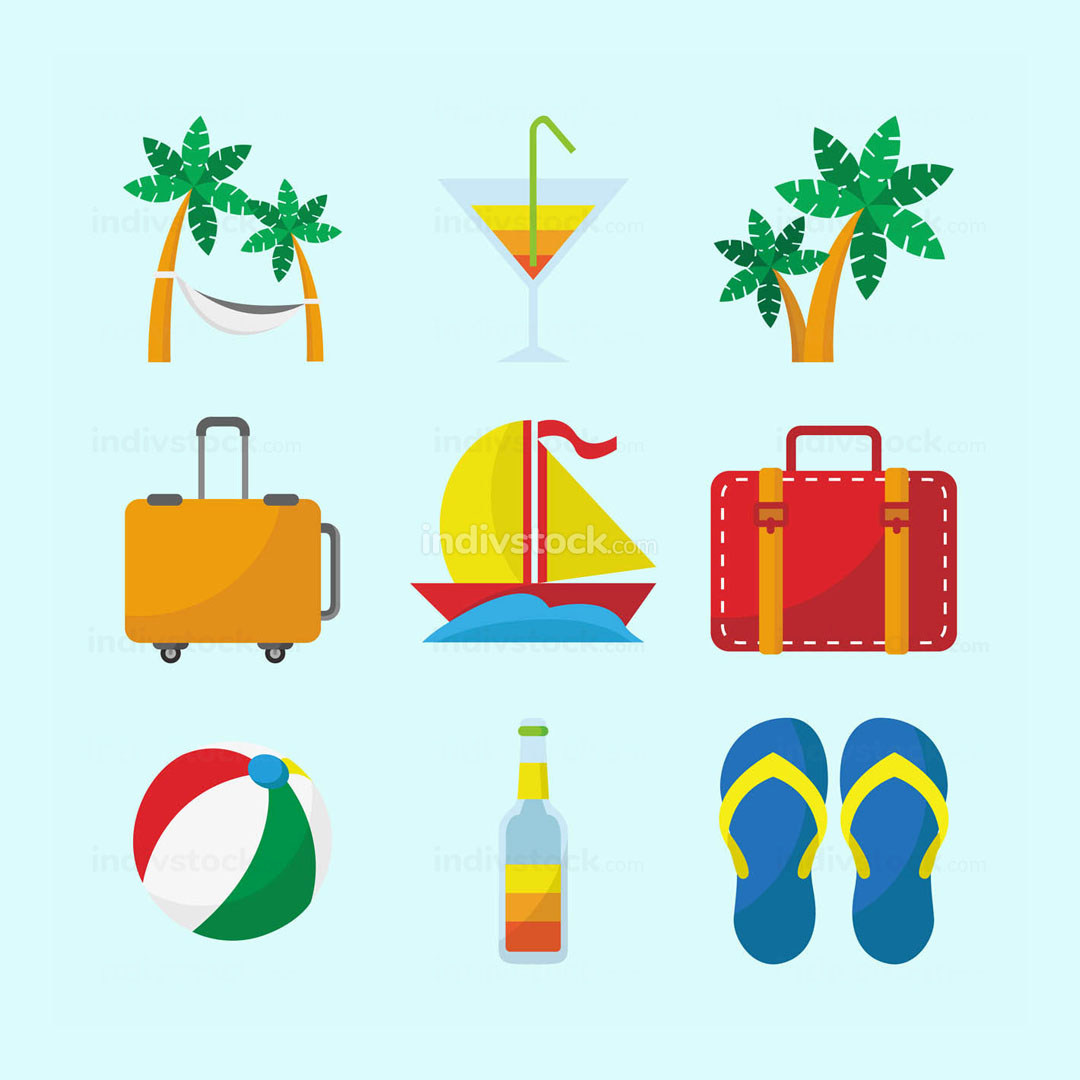 Traveling Icon Set