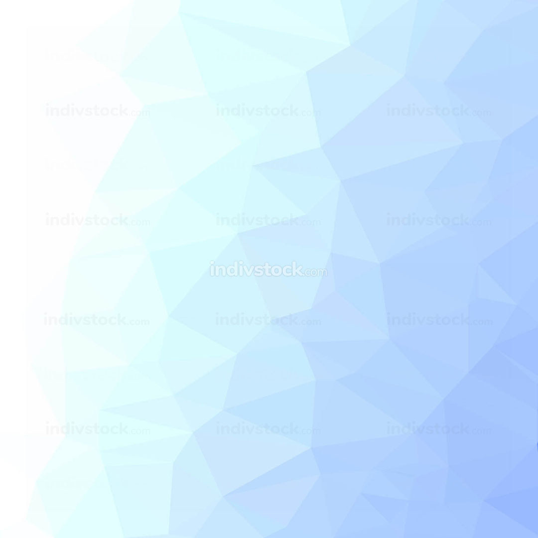 Winter Polygonal Background