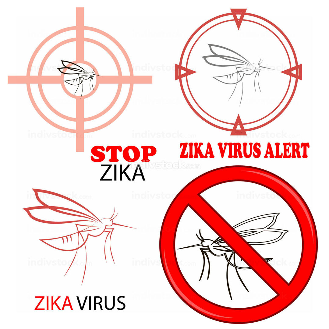 Zika Virus Sign Isolated