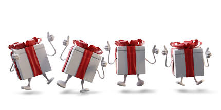 free download: christmas presents 3d-illustration