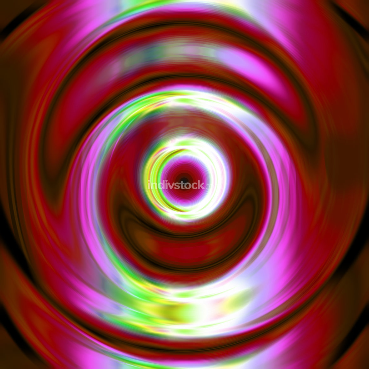 abstract color circle swirl