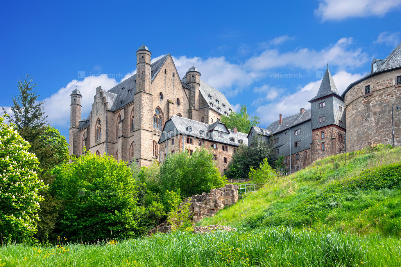 castle of Marburg Germany