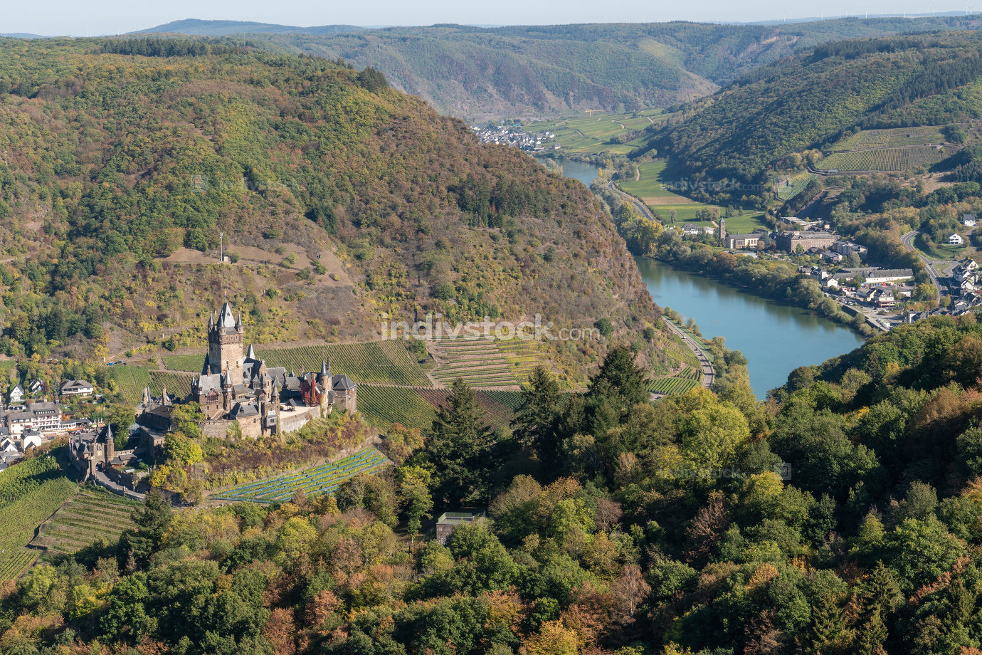Cochem, Eifel, Germany, Europe