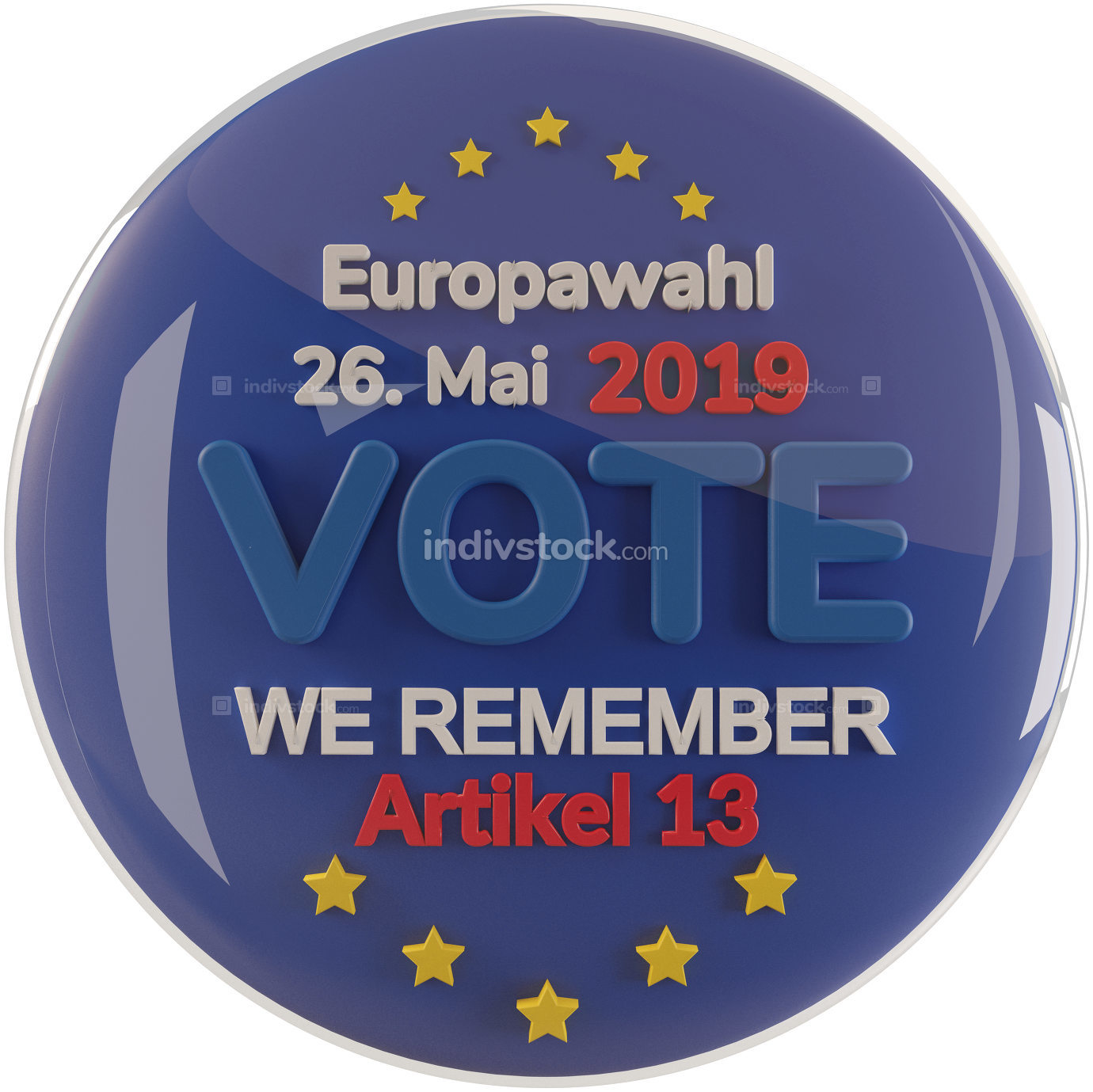 free download - german language for European Elections 2019 - Artikel 13
