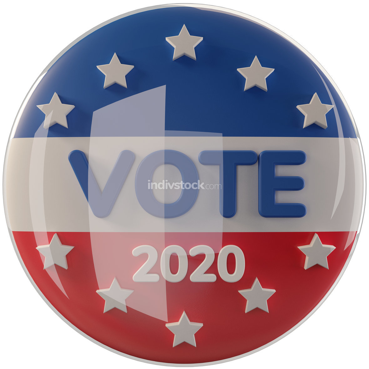 free download: United States of America presidential election 2020 - vote 3d-il