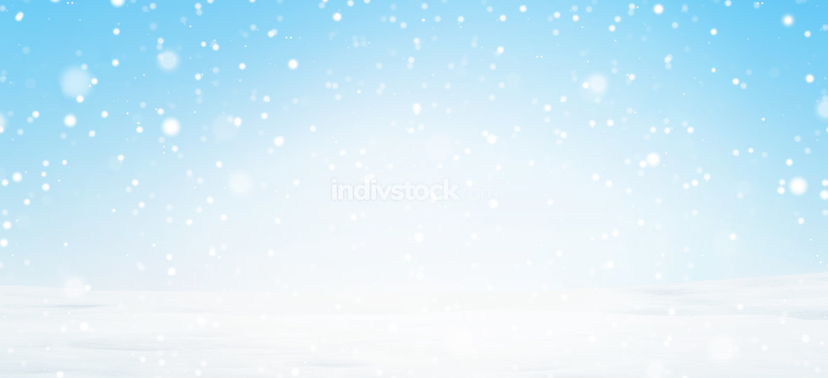free download: winter snow background 3d-illustration