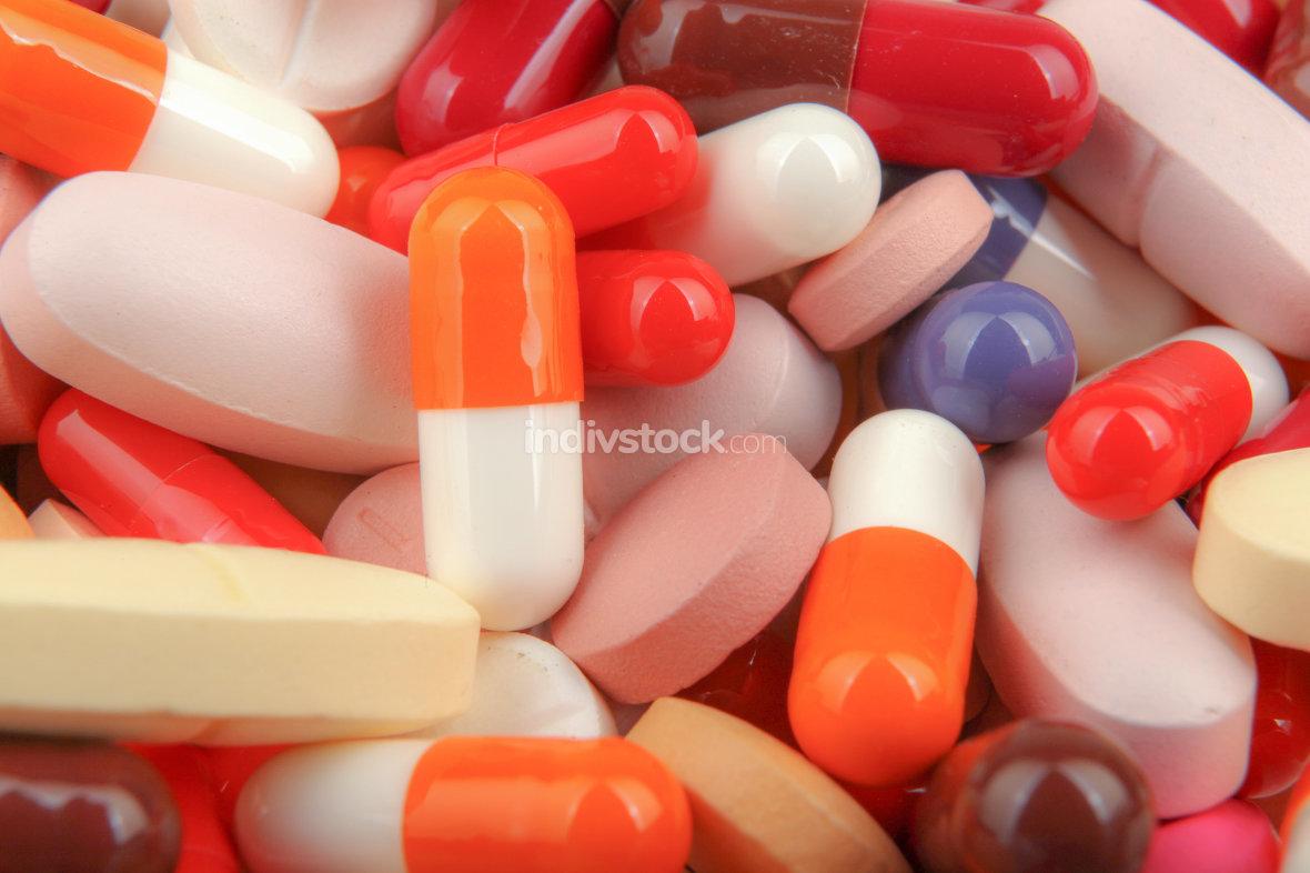Medicine Pills Background