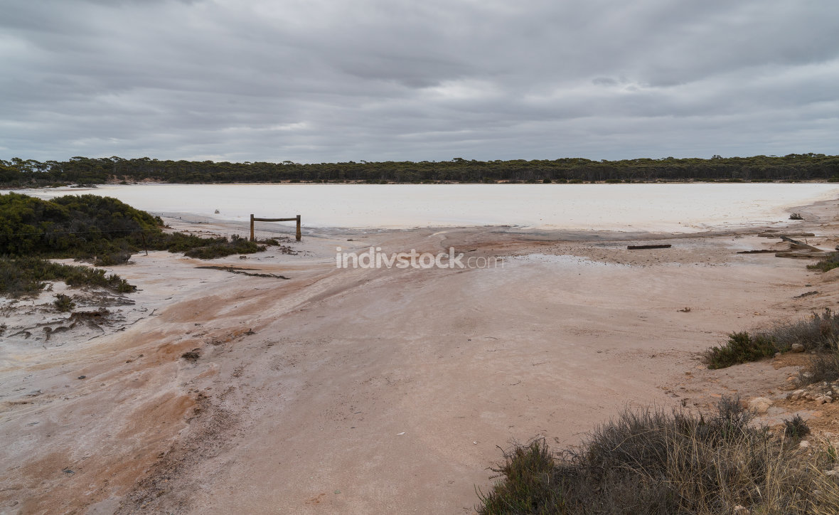 Salt lakes, Outback of Western Australia