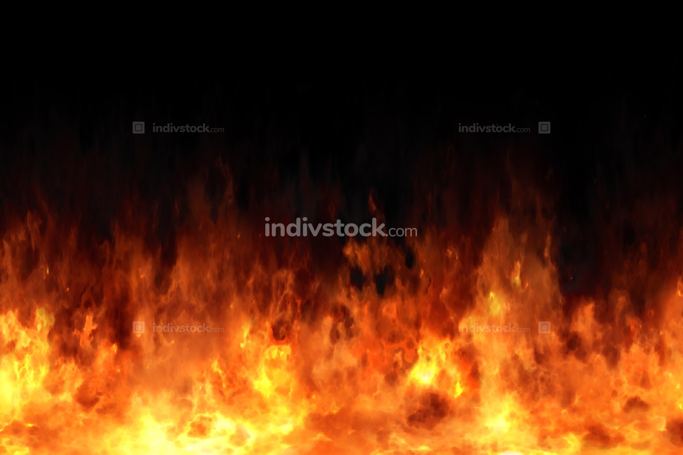 seamless fire texture illustration