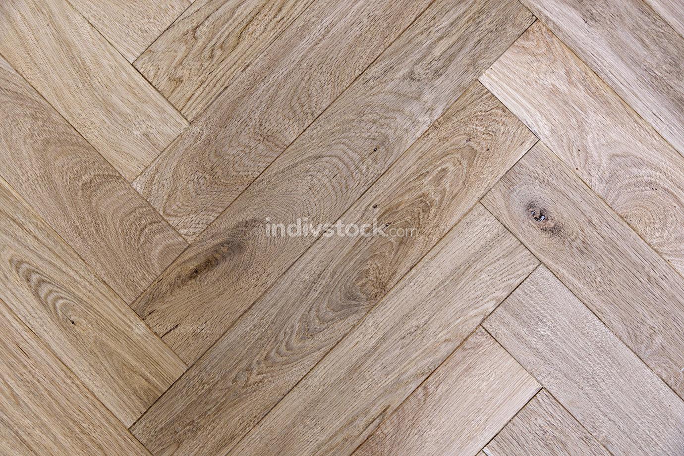 Texture of brown oak parquet