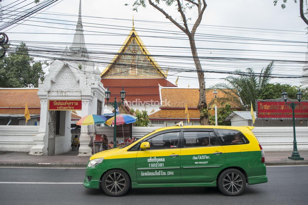 THAILAND BANGKOK BANGLAMPHU TAXI METER
