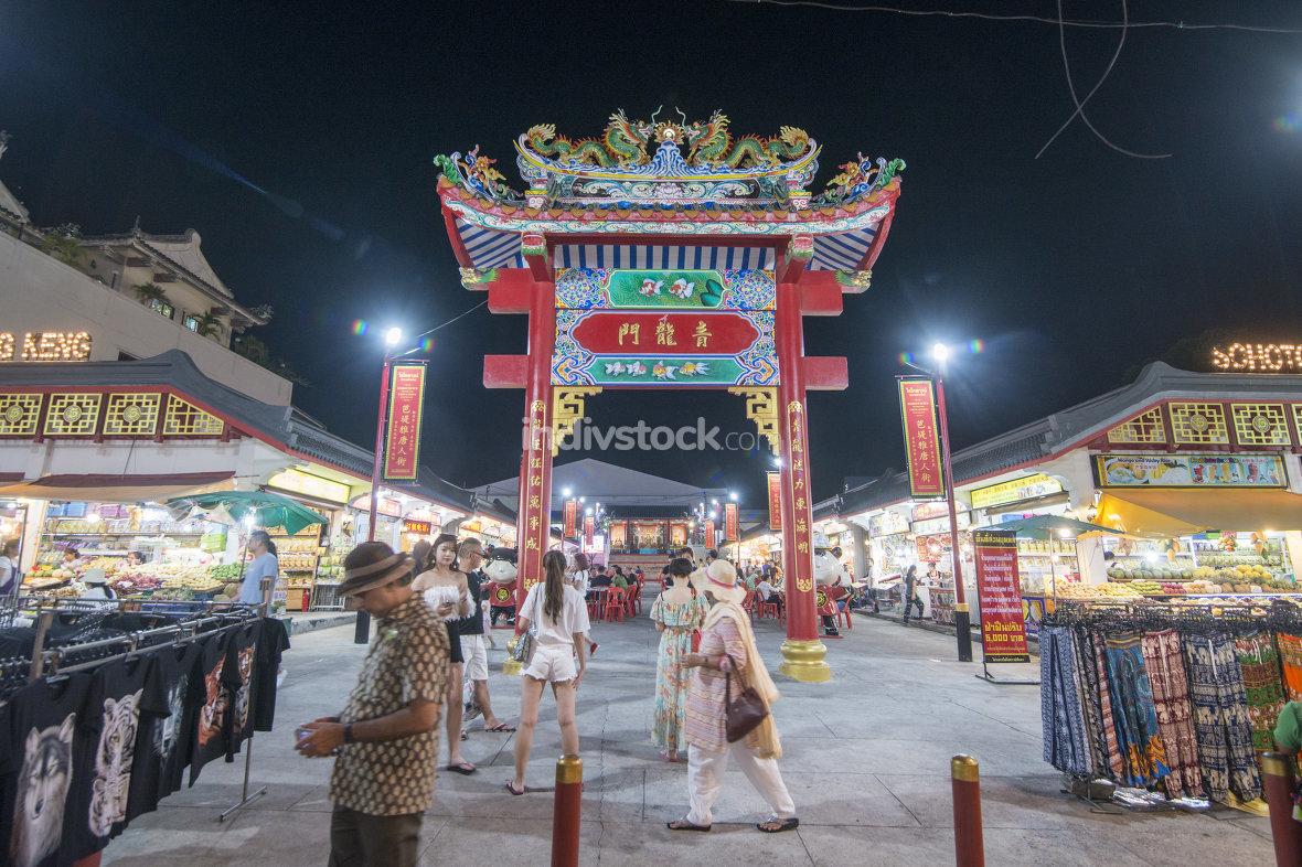 THAILAND PATTAYA CHINA TOWN NIGHTMARKET