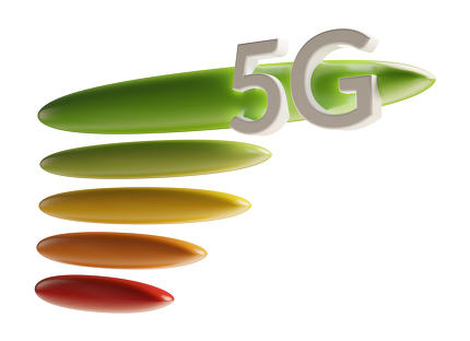 free download: 5G signal symbol isolated 3d-illustration