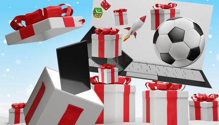 free download: christmas presents open box 3d-illustration