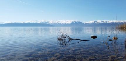 lake prespa in north macedonia