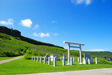 Memorial Shrine, Tinian Suicide Cliff