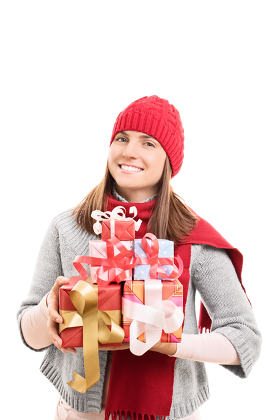 Presents and gifts for the holidays