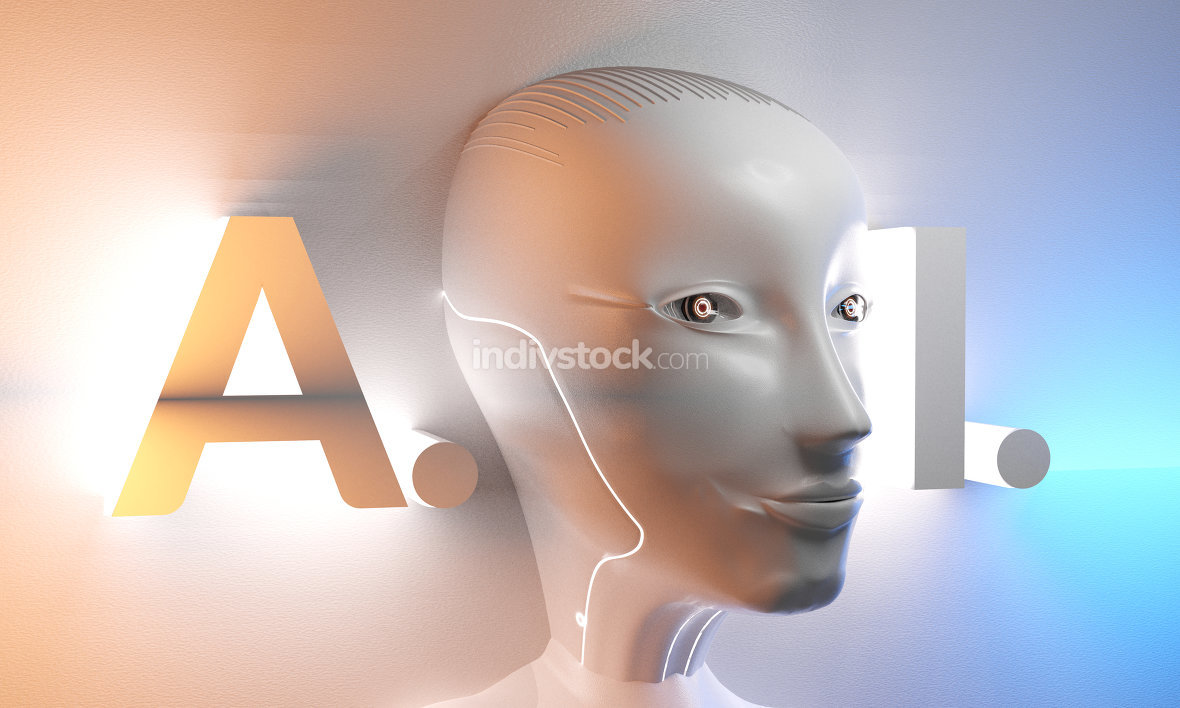 free download: artificial intelligence 3d-illustration