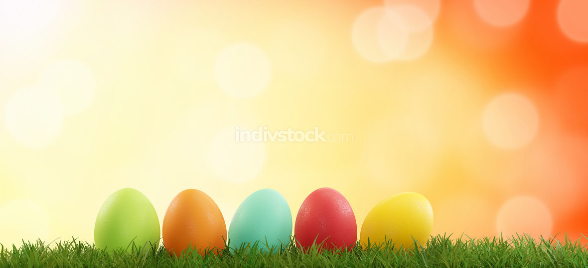 free download: Easter eggs 3d-illustration