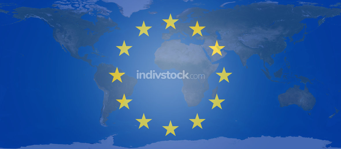 free download: Europe flag symbol background creative 3d-illustration. elements