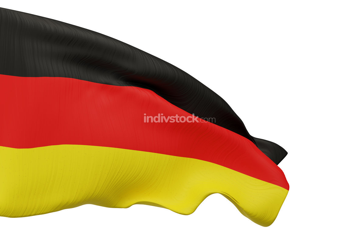free download: flag of Germany 3d-illustration