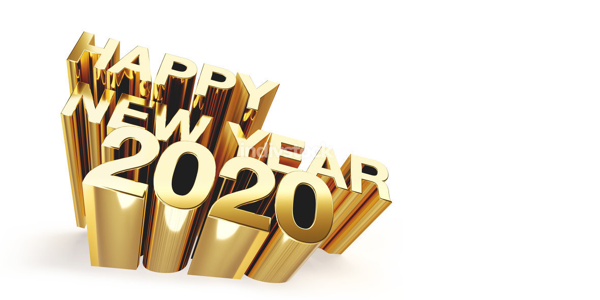 free download: happy new year 2020 3d-illustration