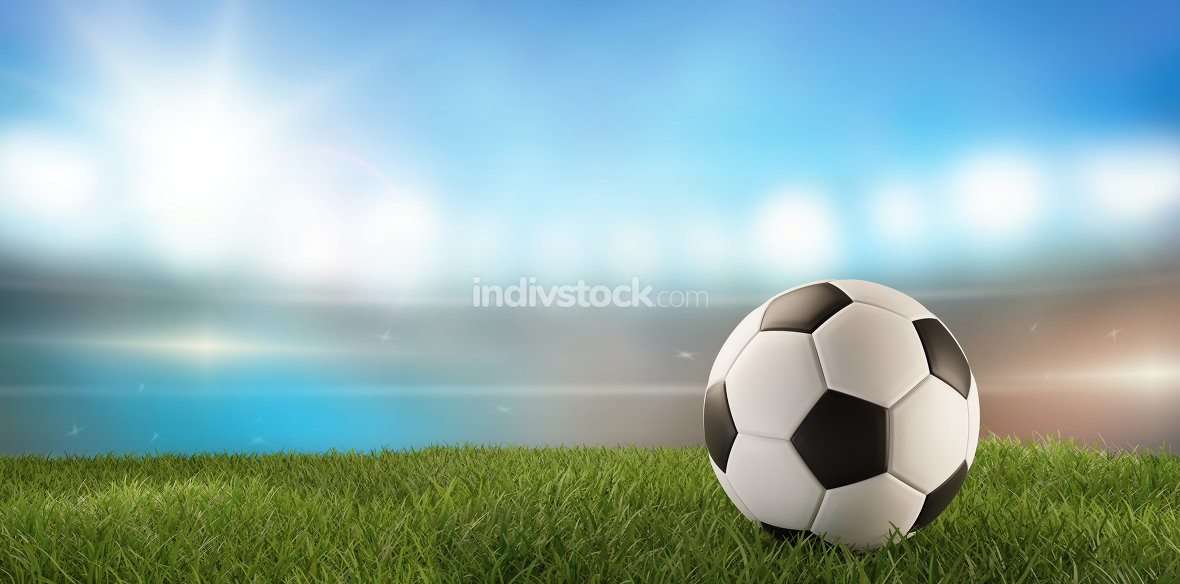 free download: soccer ball background 3d-illustration
