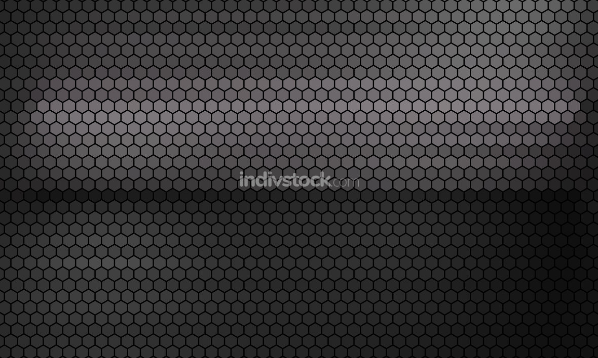 honeycomb hexagonal grid background 3d-illustration