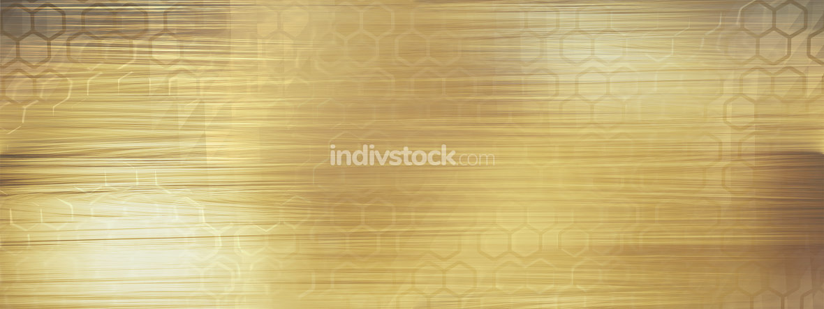 structured golden background horizontal 3d-illustration