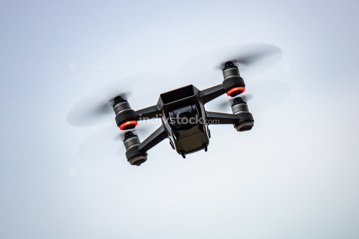 toy drone sky background