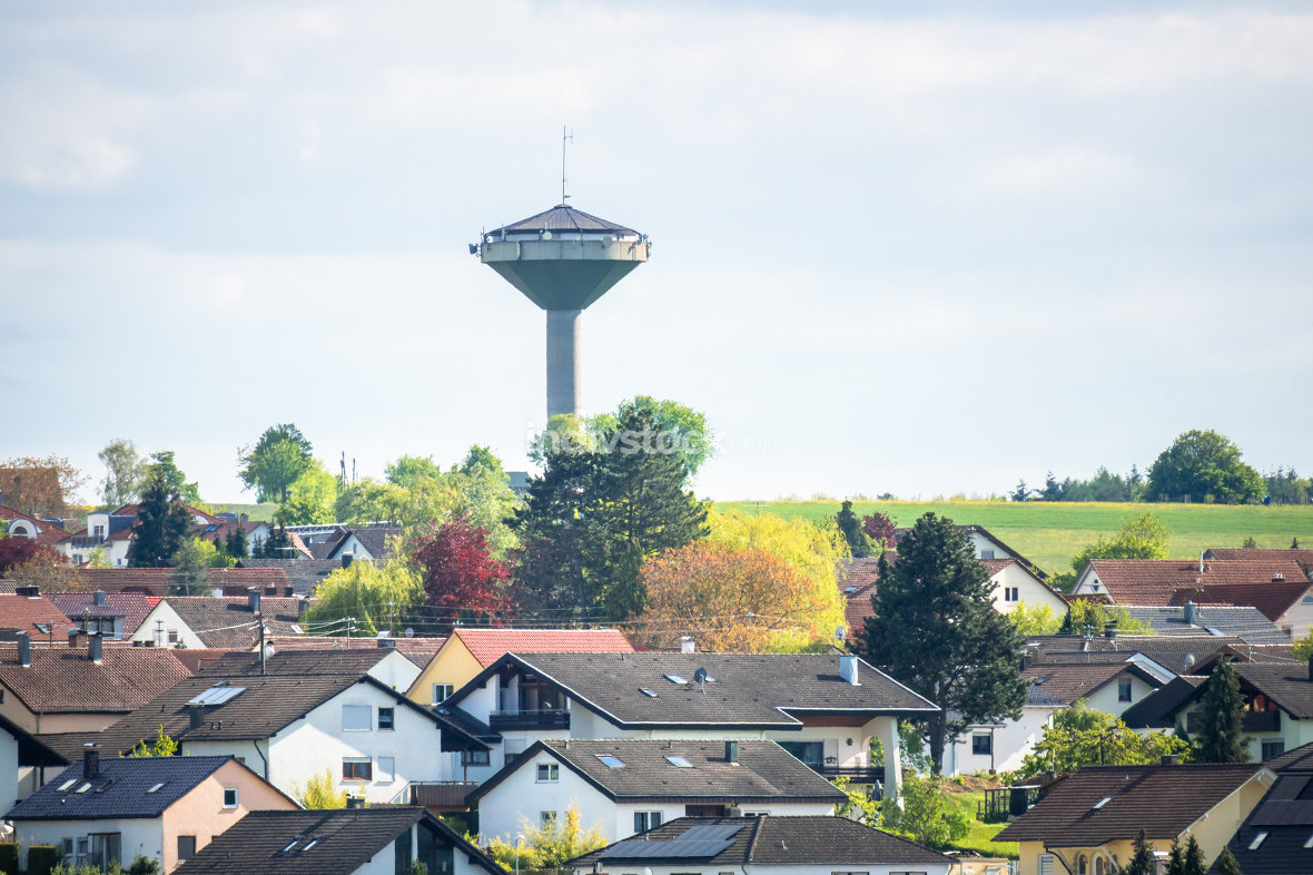 water tower at Sulz Germany
