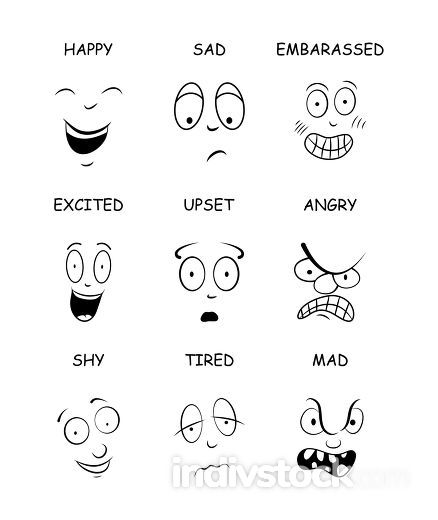 face expressions with names