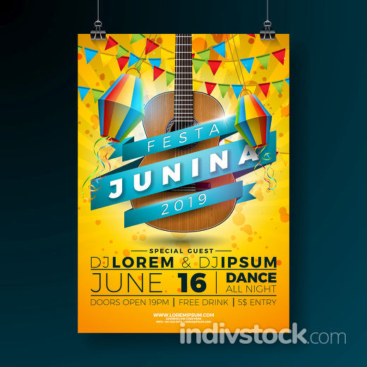 Festa Junina Party Flyer