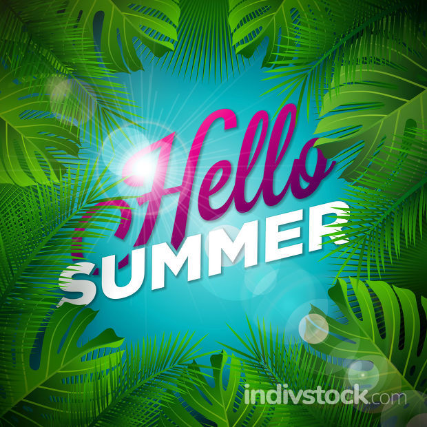 Hello Summer Illustratio