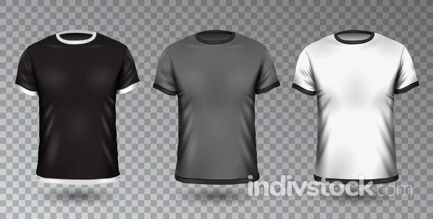 Realistic Unisex Shirt Design