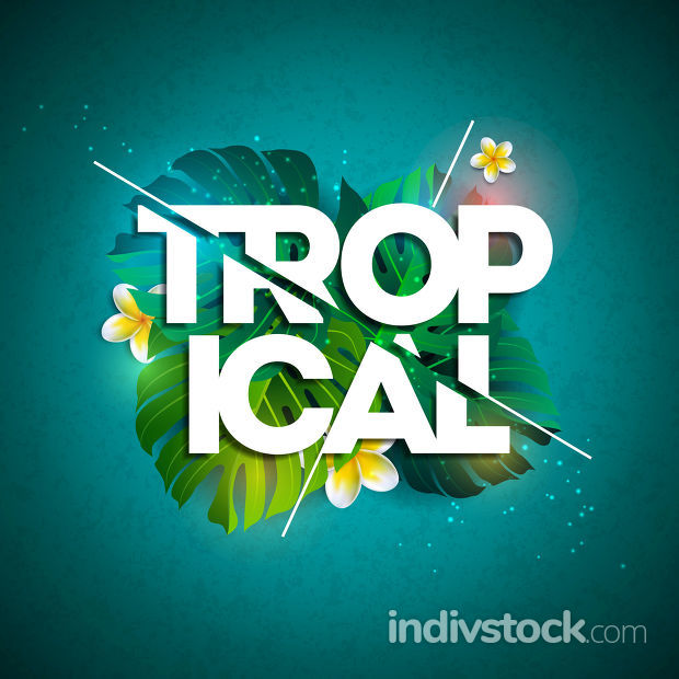 Vector Tropical Holiday