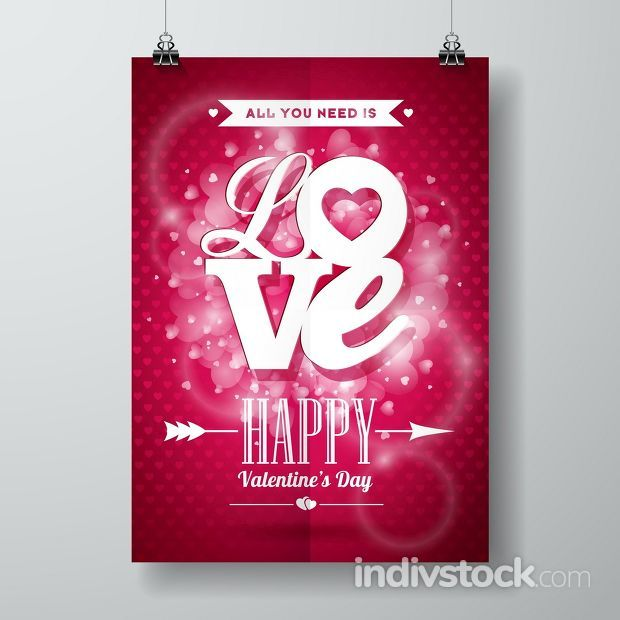 Vector Valentines Day illustration