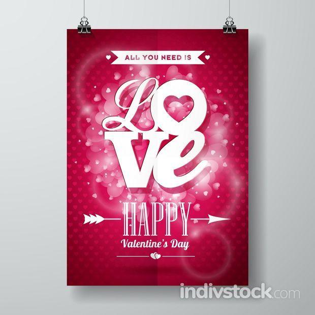 Vector Valentines Day illustration