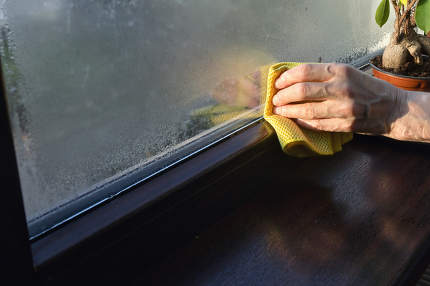 Absorb and Stop Condensation on Windows