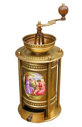 antique kitchen coffee grinder