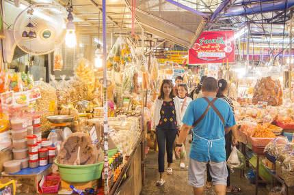 ASIA THAILAND HUA HIN CHATSILA MARKET