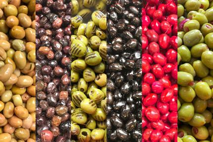 Different Types Of Greek Olives