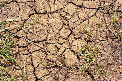 dry earth global warming texture background