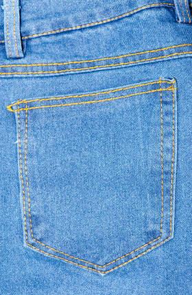 fashion jeans pocket closeup