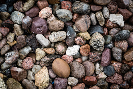 Sea stones abstract background